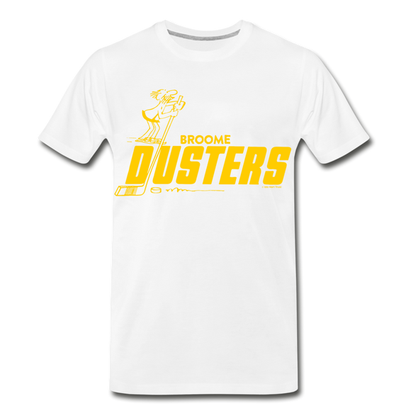 Broome Dusters T-Shirt (Premium) - white
