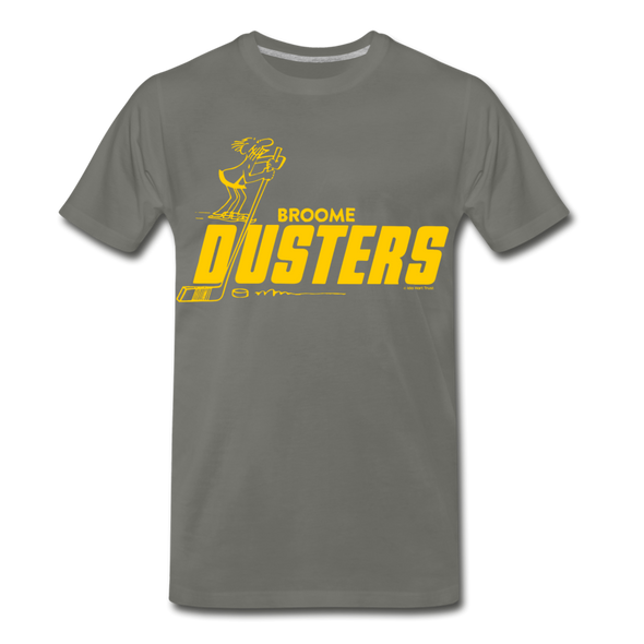 Broome Dusters T-Shirt (Premium) - asphalt gray