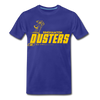 Binghamton Dusters T-Shirt (Premium) - royal blue
