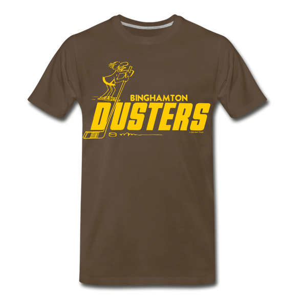 Binghamton Dusters T-Shirt (Premium) - noble brown