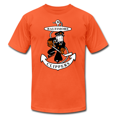 Baltimore Clippers Logo Orange T-Shirt (Premium) - orange