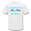 Atlantic City Sea Gulls Logo Premium T-Shirt - white