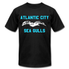Atlantic City Sea Gulls Logo Premium T-Shirt - black