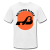 Baltimore Blades Text Logo Premium T-Shirt - white
