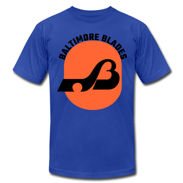 Baltimore Blades Text Logo Premium T-Shirt - royal blue