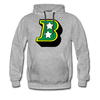 Birmingham South Stars B Logo Hoodie (Premium) - heather gray