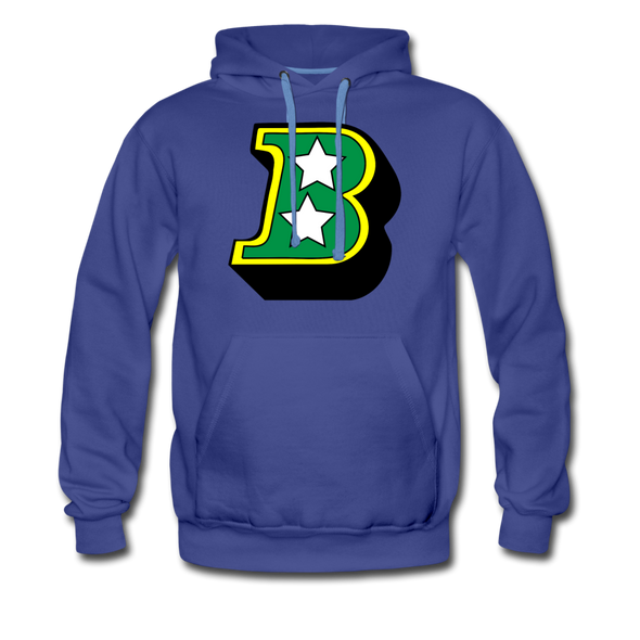 Birmingham South Stars B Logo Hoodie (Premium) - royalblue