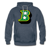 Birmingham South Stars B Logo Hoodie (Premium) - heather denim