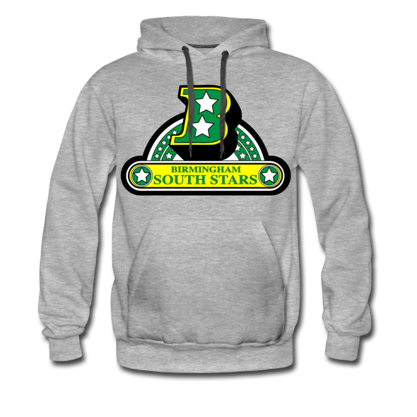Birmingham South Stars Logo Hoodie (Premium) - heather gray