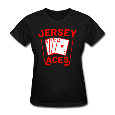 Jersey Aces Women's T-Shirt - black