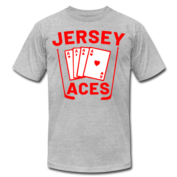 Jersey Aces T-Shirt (Premium) - heather gray