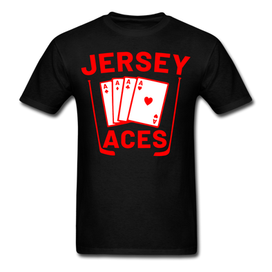 Jersey Aces T-Shirt - black