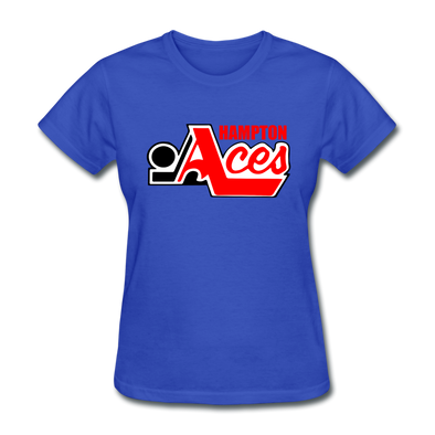 Hampton Aces Women's T-Shirt - royal blue