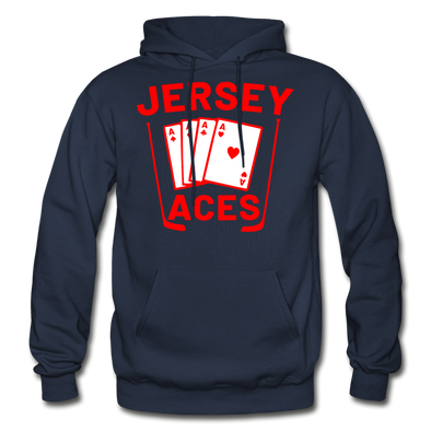 Jersey Aces Hoodie - navy