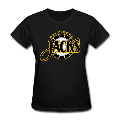 Baltimore Skipjacks Women's T-Shirt - black