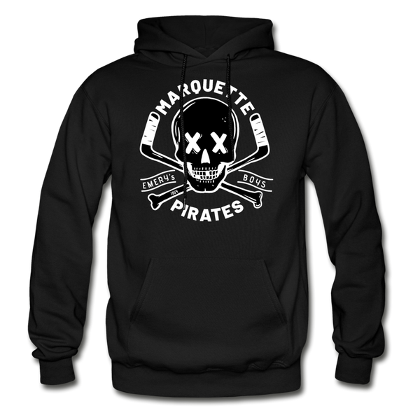 Marquette Pirates Dark Hoodie - black