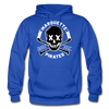 Marquette Pirates Dark Hoodie - royal blue
