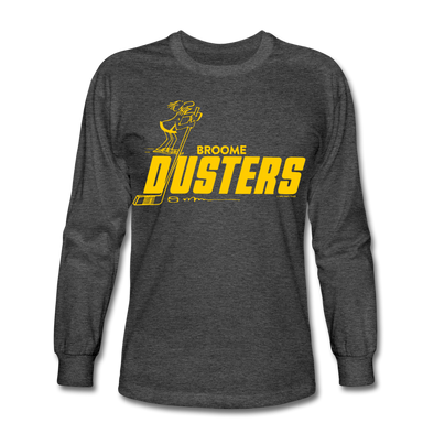 Broome Dusters Long Sleeve T-Shirt - heather black