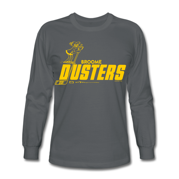 Broome Dusters Long Sleeve T-Shirt - charcoal