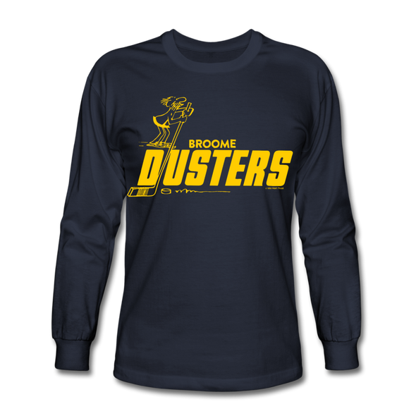 Broome Dusters Long Sleeve T-Shirt - navy