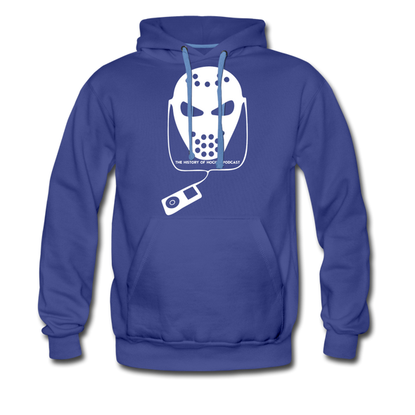 History of Hockey Hoodie (Premium) - royalblue