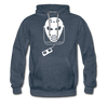 History of Hockey Hoodie (Premium) - heather denim