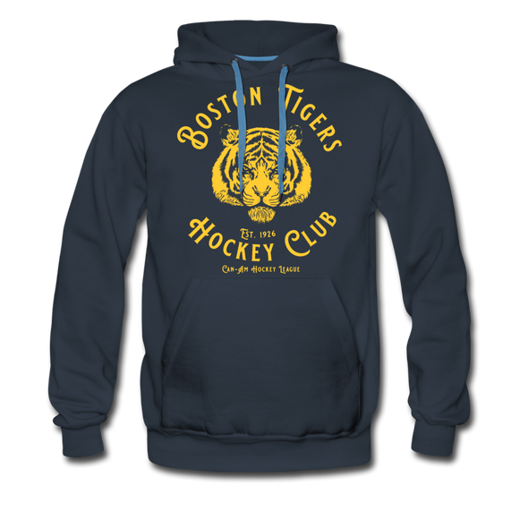 Boston Tigers Hoodie (Premium) - navy