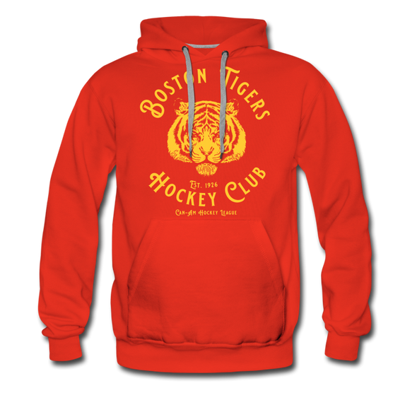 Boston Tigers Hoodie (Premium) - red