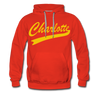 Charlotte Clippers Logo Hoodie (Premium) - red