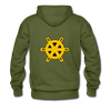 Charlotte Clippers Logo Hoodie (Premium) - olive green