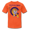 Cincinnati Tigers Logo T-Shirt (Premium) - orange