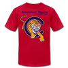 Cincinnati Tigers Logo T-Shirt (Premium) - red