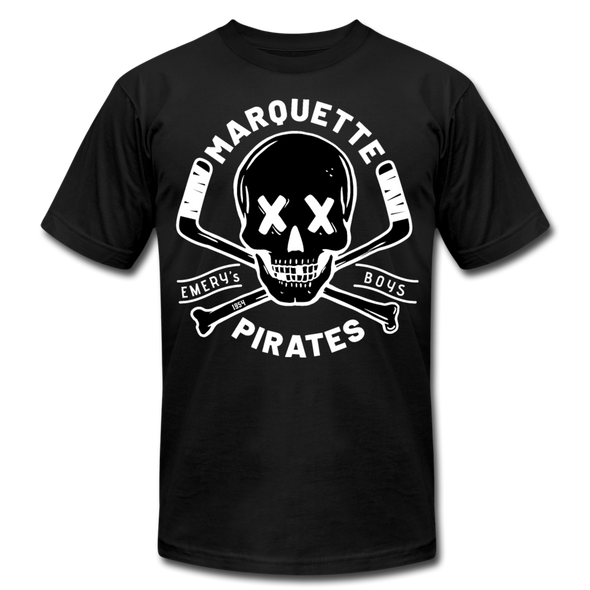 Marquette Pirates Dark T-Shirt (Premium) - black