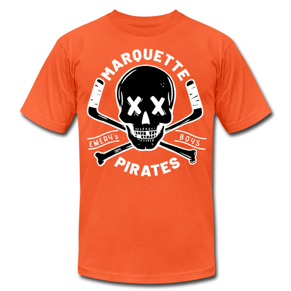 Marquette Pirates Dark T-Shirt (Premium) - orange