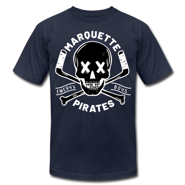 Marquette Pirates Dark T-Shirt (Premium) - navy