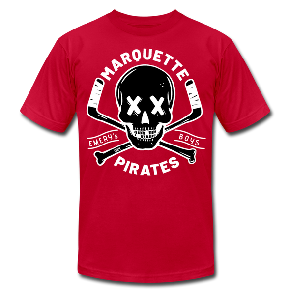 Marquette Pirates Dark T-Shirt (Premium) - red