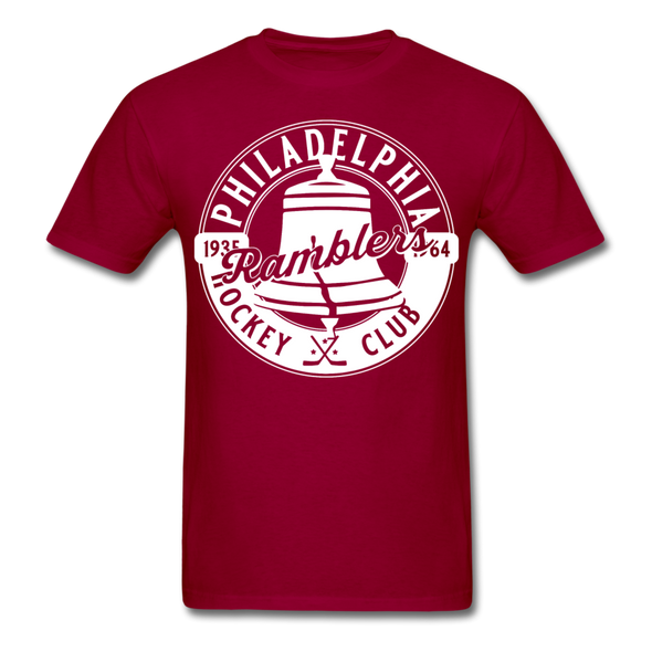 Philadelphia Ramblers T-Shirt - dark red