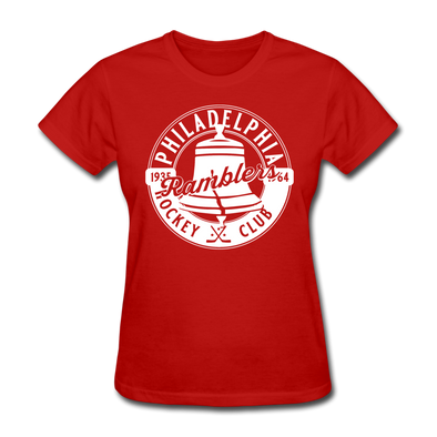 Philadelphia Ramblers Women's T-Shirt - red