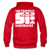 San Francisco Shamrocks Hoodie - red