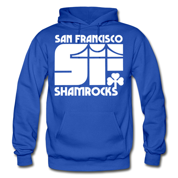 San Francisco Shamrocks Hoodie - royal blue