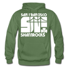 San Francisco Shamrocks Hoodie - military green
