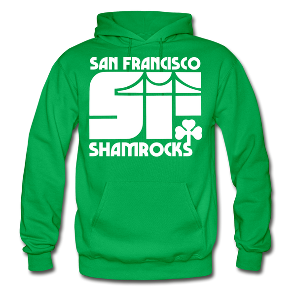 San Francisco Shamrocks Hoodie - kelly green