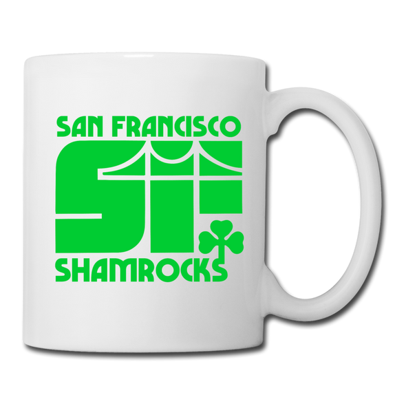 San Francisco Shamrocks Mug - white