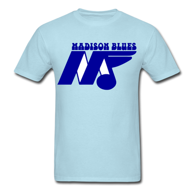 Madison Blues T-Shirt - powder blue