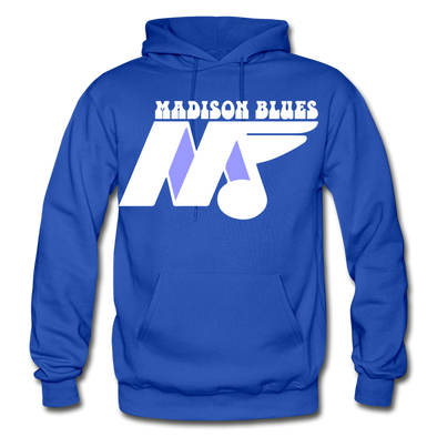 Madison Blues Hoodie - royal blue