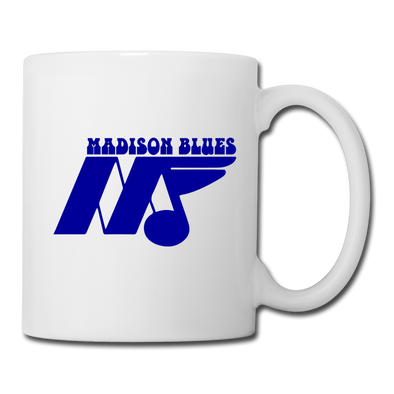 Madison Blues Mug - white