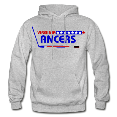 Virginia Lancers Hoodie - heather gray