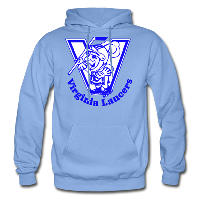 Virginia Lancers Knight Hoodie - carolina blue