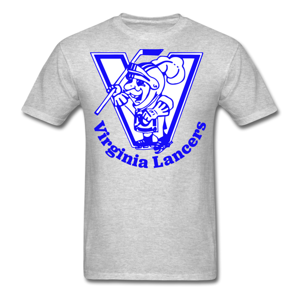 Virginia Lancers Knight T-Shirt - heather gray