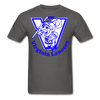 Virginia Lancers Knight T-Shirt - charcoal